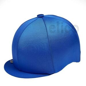 63a699af4a0 ROYAL BLUE CAPZ RIDING HAT SILK COVER FOR JOCKEY SKULL CAPS ONE SIZE ...