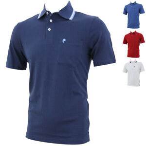 sports shoes aa06e f127d Dettagli su Polo Uomo GREENLAND T-shirt Maglietta Taschino Manica Corta  Cotone da GELSTORE