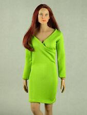 1/6 Phicen, Hot Toys, Hot Stuff, ZC, Kumik, Vogue Female V-Neck Fashion Dress