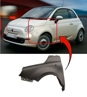 Front Wing Primed No Indicator Right O//S Fiat Doblo 2010-2015 New High Quality