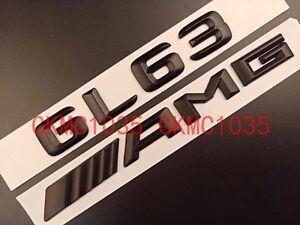 Mercedes Benz GL-Class GL63 Chrome Flat Rear Trunk Emblem Decal Badge Sticker