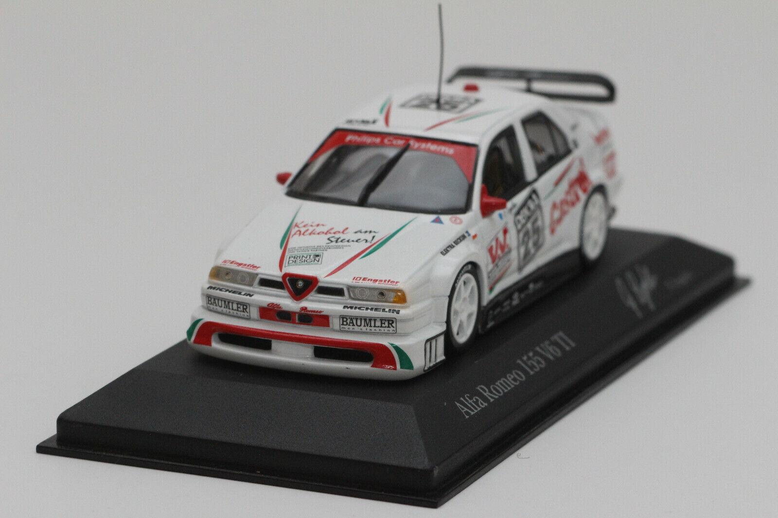 1 43 Alfa Romeo 155 V6 TI DTM 1994 –Franz EngstlerMinichamps modelllllerlerlbil