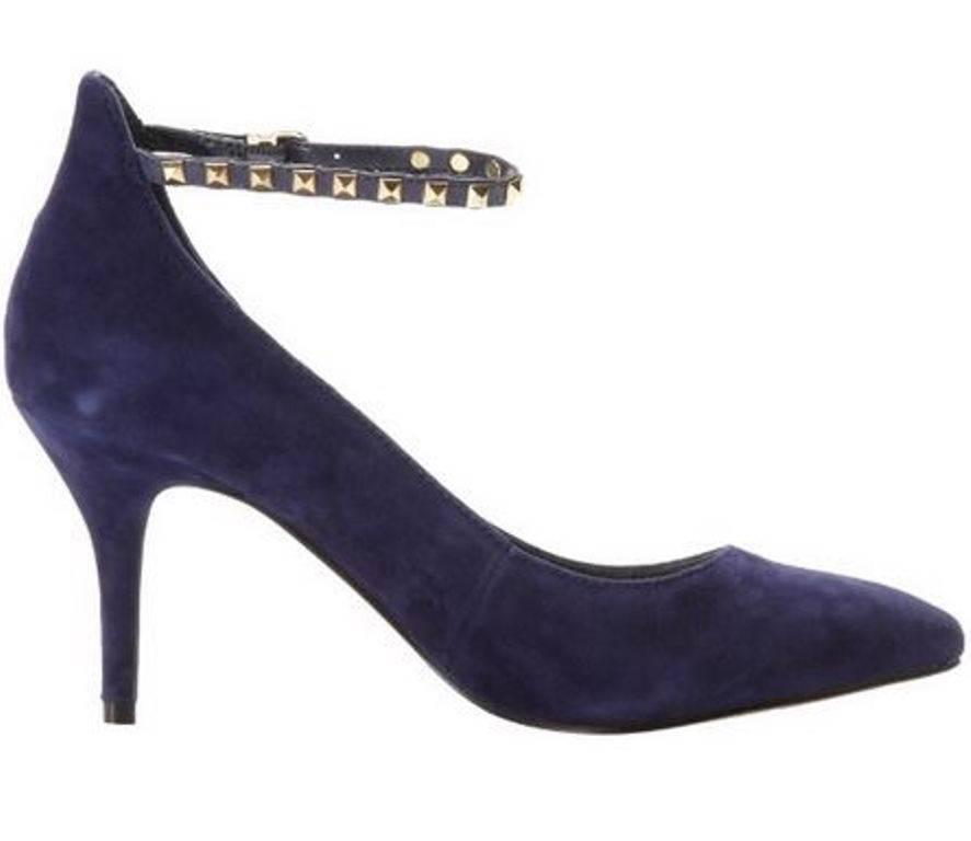 Womens Shoes Shoes Womens BCBG BCBGeneration ZYLA  Heels Pumps Suede Navy Blue Studs c8e2f8