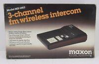 Maxon Mx-1003 3-way Fm Wireless Intercom