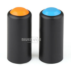 2-Colors-Battery-Screw-On-Cap-Cup-Cover-For-SHURE-PGX2-SLX2-Wireless-Microphones