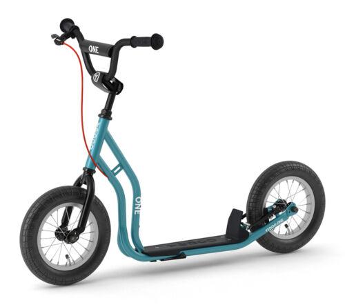 Yedoo Scooter Number One Tretroller 12 Zoll V-Brake Felgenbremse Blau *NEU