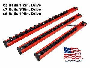 Mechanics time saver magnetic socket rails for craftsman for Craftsman picture rail