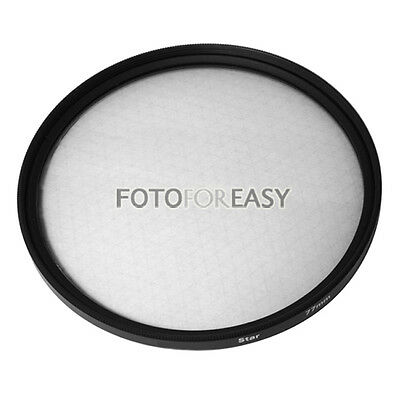 67mm Six 6 Point 6PT Star Filter for 67mm Lens
