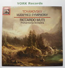 ASD 4169 - TCHAIKOVSKY - Manfred Symphony MUTI Philharmonia Orch - Ex LP Record