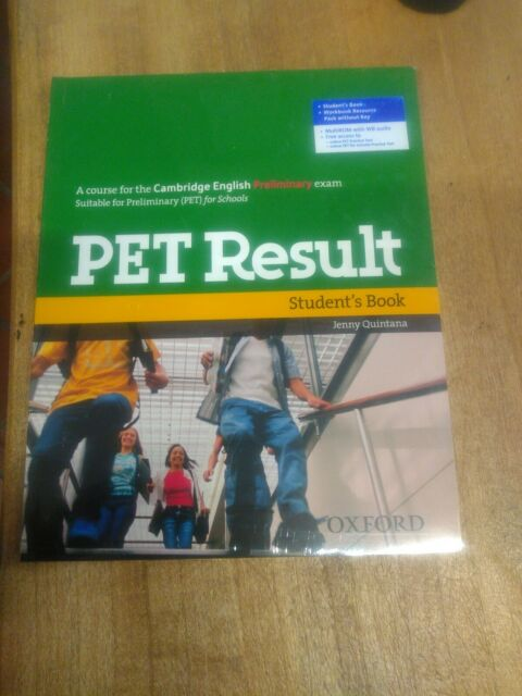 Pet result. Student's Book-Workbook without key con cd-rom9780194817189