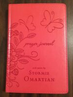 Prayer Journal - Quotes From Stormie Omartian - Coral Leathersoft Hardcover
