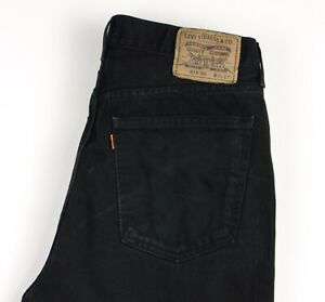 Levi-039-s-Strauss-amp-Co-Herren-615-04-Orange-Label-Vintage-Jeans-Groesse-W34-L32