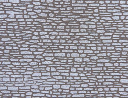 50 x 25 cm HEKI 72602 rupture mur de pierre des deux côtés marqué Peupliers la majeur 53,16 €//m²