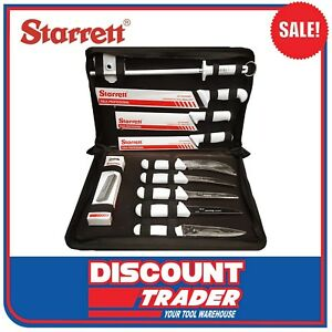 Starrett-Professional-Butchers-Knife-Set-In-Case-11-Piece-BKK-11W