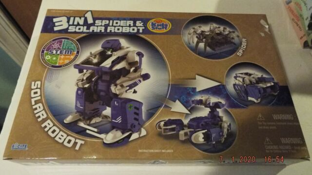 3 in 1 SPIDER & SOLAR ROBOT   eBay