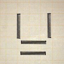 4 x Druckfeder,  Länge 21mm, Außen Ø3,2mm, Drahtstärke 0,4mm