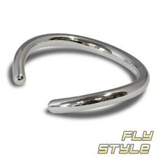 925 Silber Designer Armreif armspange armband silberschmuck schlicht chick damen