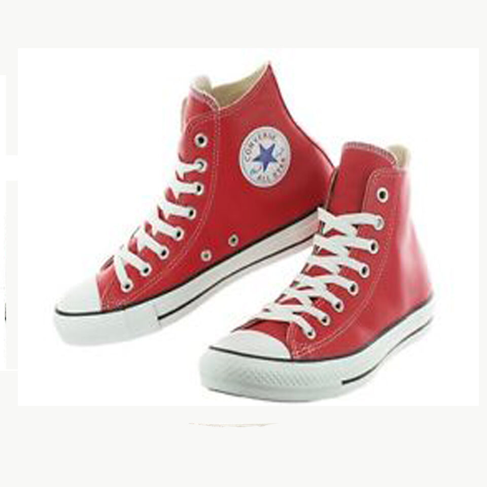 Converse All Hi Star Chuck Taylor Ct Hi All leather Mens Shoes 136579c 221719