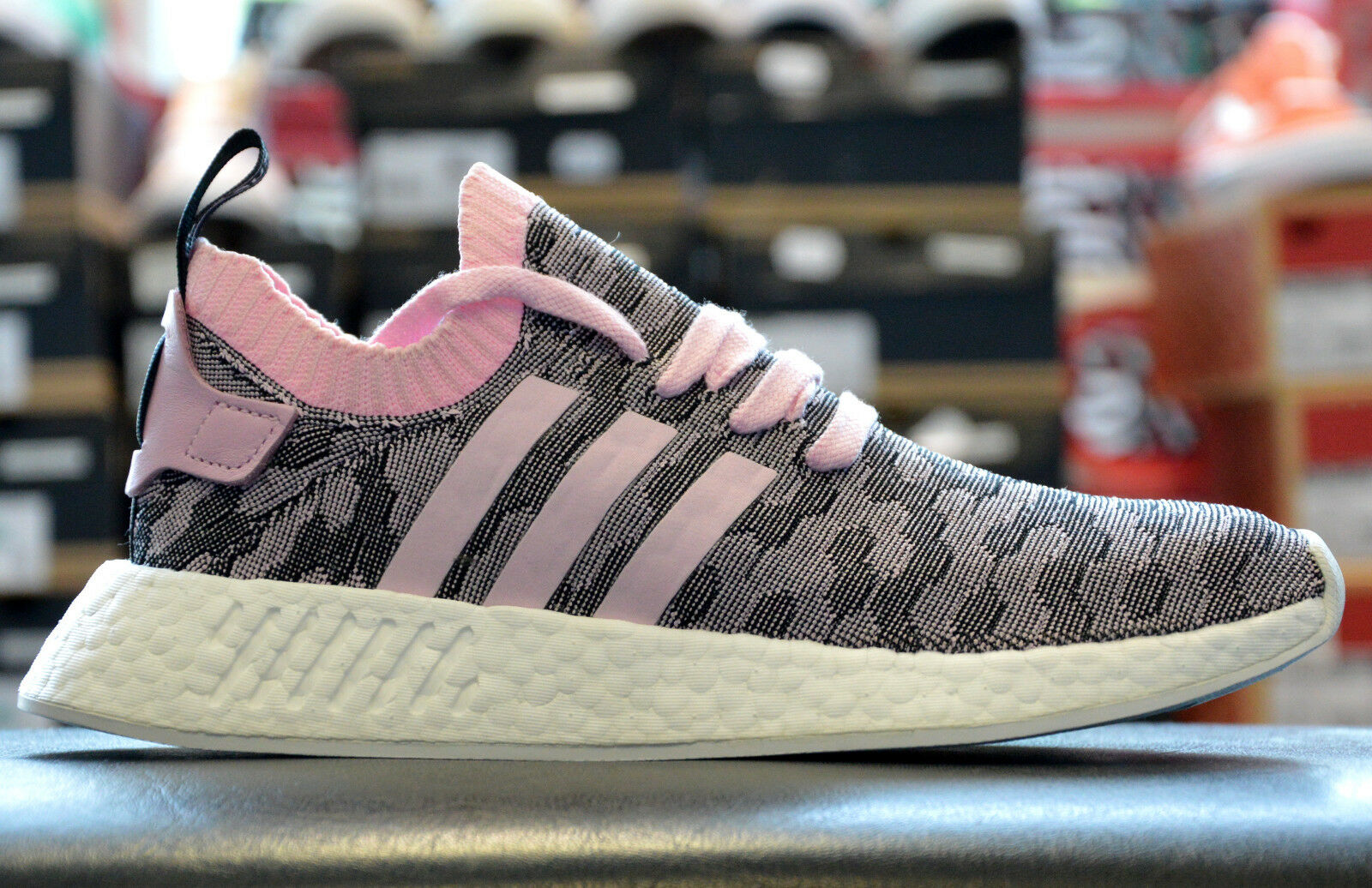 Adidas NMD R2 Pk Damen Mädchen Sneaker Turnschuhe Sommerschuhe Boost Pink