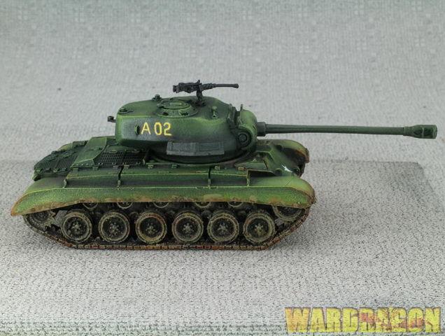 28mm Warlordgiocos WDS painted Bolt azione US Army M26  Pershing heavy tank e65  benvenuto a comprare