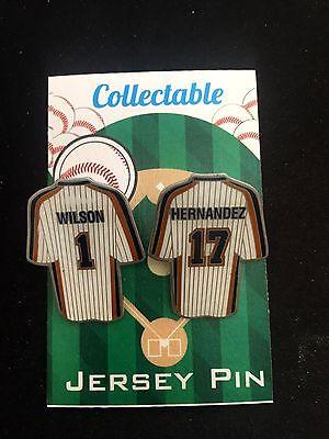 Baseball & Softball Gut Ausgebildete New York Mets Reversnadel Keith Hernandez/mookie Wilson-1986 Klassisches Dauerhaft Im Einsatz