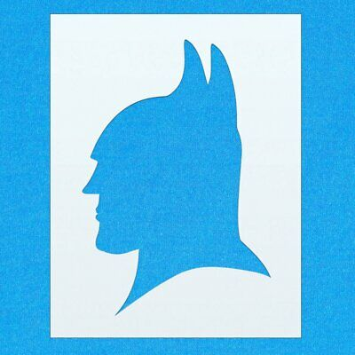 Batman Character Face Mask Mylar Airbrush Painting Wall Art Crafts Stencil 6...