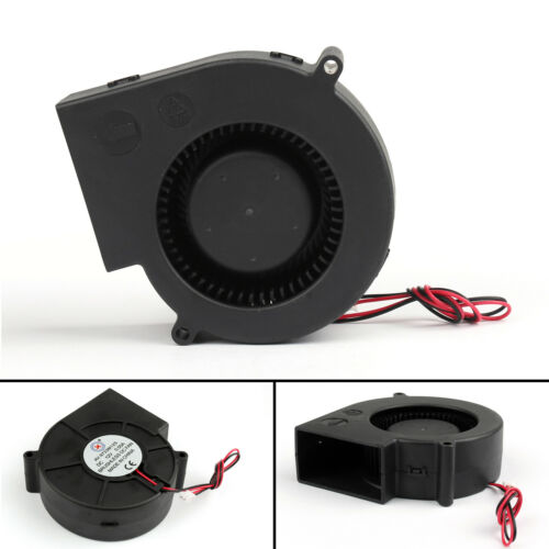 DC Brushless Cooling PC Computer Fan 12V 9733s 97x97x33mm 0.5A 2 Pin Wire UE