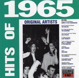 Hits-Of-1965-Various-Artists-CD-1989-Original-CD