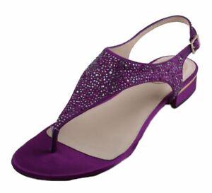 Vince-Camuto-Signature-Marta-Womens-Purple-Satin-Thong-Sandals