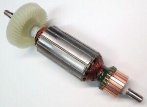Motor-Anker-Rotor-Laeufer-fuer-Bosch-GWS-14-125C-GWS-14-125-CE-GBR14CA-PWS-13-125