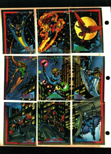 1993 SKYBOX Marvel Universe Series 4  Trading Card Set of 180 CARDS NEAR MINT