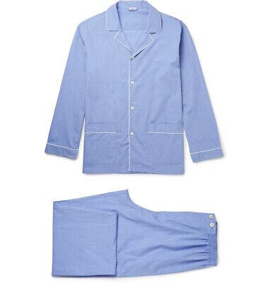 Zimmerli Men/'s Grey Pyjama Tee//Shorts Set