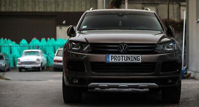 VW Touareg 7P Front Bumper Valance  Spoiler Lip