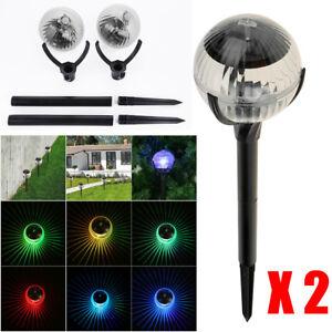 Solar-Power-LED-Pathway-Light-Landscape-Garden-Fence-Outdoor-Lamp-Lighting-Decor