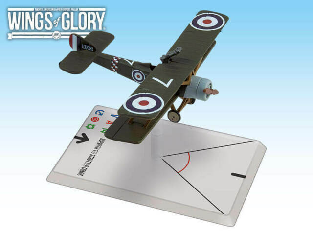 Series 7 - Wings of Glory - Sopwith 1 1/2 Strutter Comic (78 Squadron) - New!
