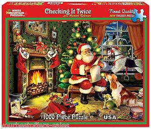image is loading white mountain puzzles christmas jigsaw puzzles 1000 piece