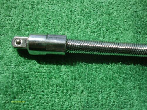 "1 pc Flexible Flexi 20 Inch Long Socket Extension Bar 1//4/""Drive Bends 90 Degrees"