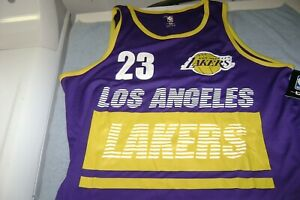 Details about NBA Los Angeles Lakers LeBron James #23 PRACTICE Jersey Men Size Large NEW