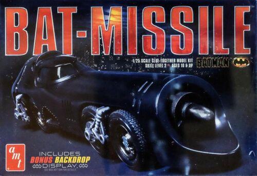 Bat-Missile Batmobile Batman Returns Movie in 1:25 AMT Model Kit Bausatz AMT952
