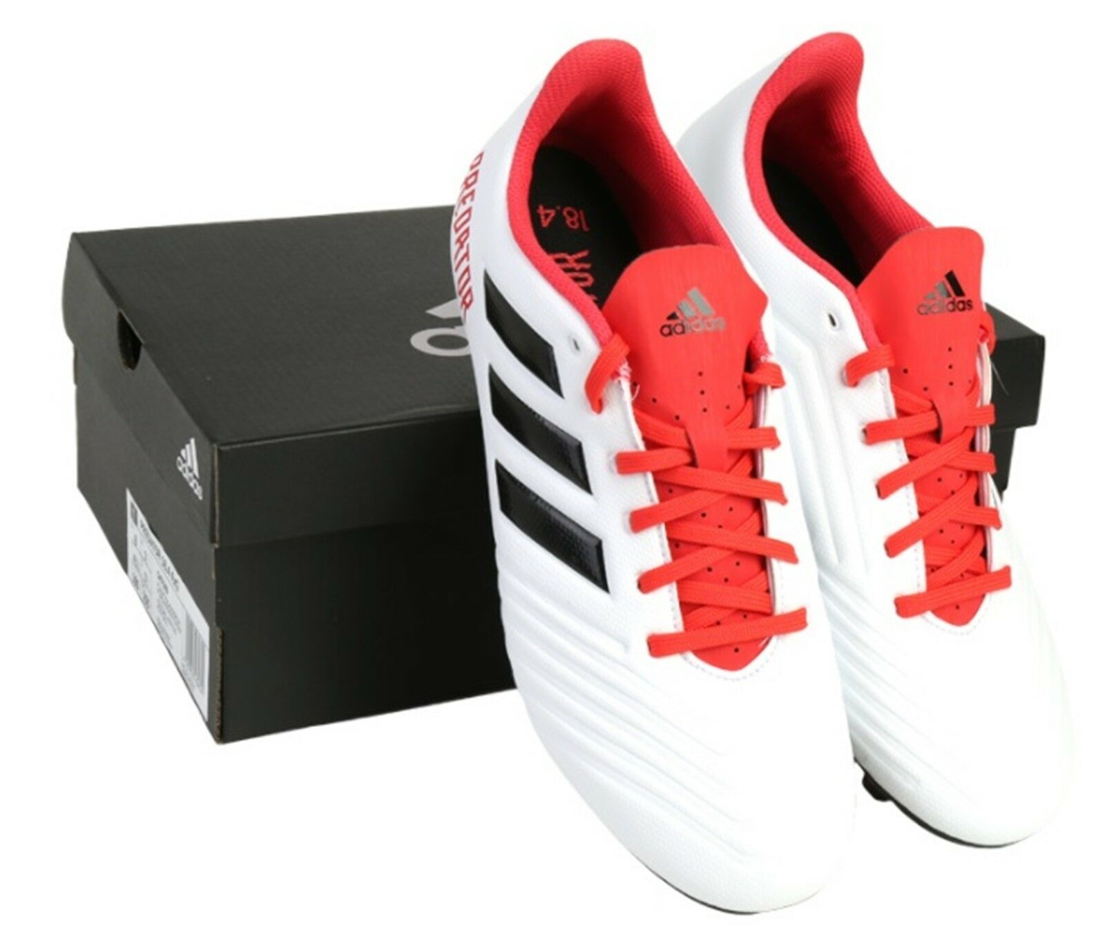 80160795a ... switzerland adidas men predator 18.4 cm7669 fxg cleats soccer white red  football shoes spike cm7669 18.4