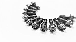 Titanium EXHAUST Manifold Stud Kit for RB30 6CYL