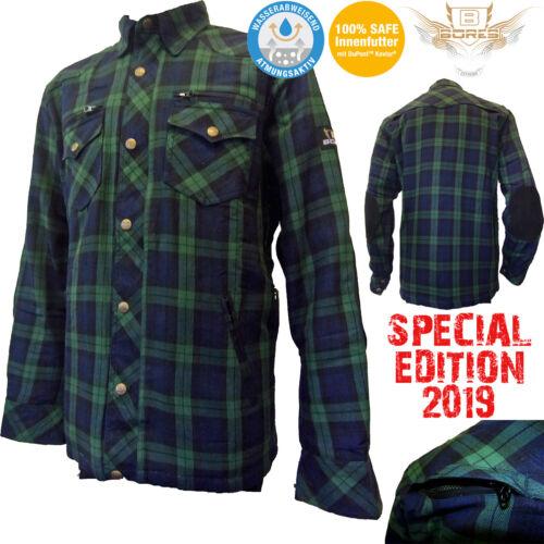 BORES Motorrad Hemd LUMBERJACK Holzfäller Lumber Jack SPECIAL EDTION 2019 Gr 3XL