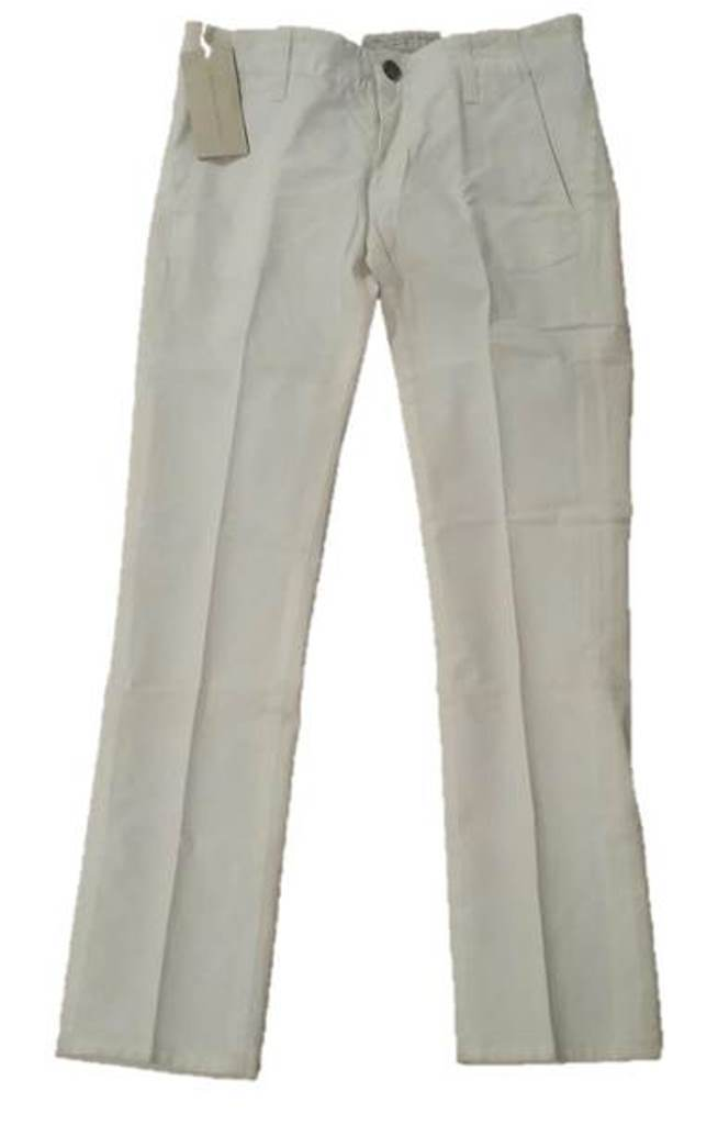 STELLA McCARTNEY Made in  CROP Jeans OFF WHITE Slim 26 FREE SHIPPING