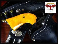 RUGER BISLEY YUKON GOLD / ANTIQUE PEARL GRIPS ~ BISLEY Single Action Revolver