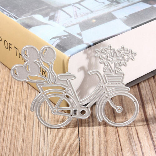 Bicycle Metal Cutting Dies Stencil Scrapbooking Papers Cards Albums PhotoCraftYH