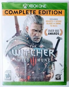 Microsoft-The-Witcher-3-Wild-Hunt-Complete-Edition-Xbox-One-WB-Games-New-Sealed