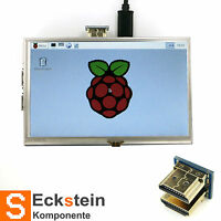 5 inch Resistive Touch Screen LCD HDMI Designed for Raspberry Pi RP02009