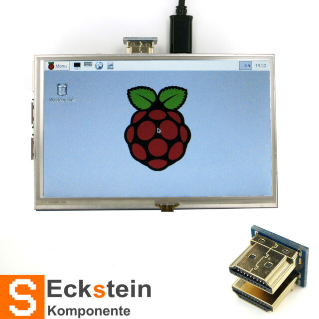5 inch Guanti Touch Screen LCD HDMI designed for Raspberry Pi rp02009