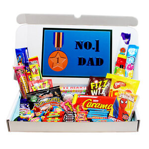 Image Is Loading NUMBER 1 DAD RETRO SWEETS GIFT BOX FATHERS