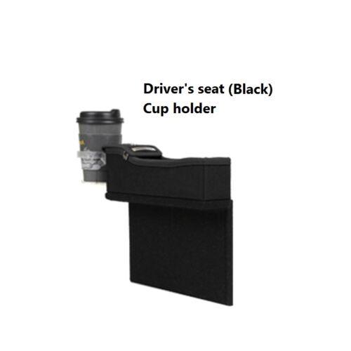 KMMOTORS Coin Side Pocket Cup Holder Console Side Pocket Seat Wedge Organizer